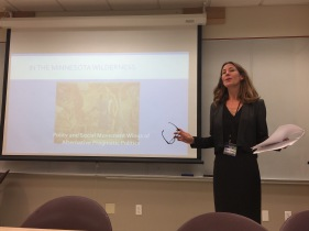 Mara Fridell talking about Labor History in the Midwest