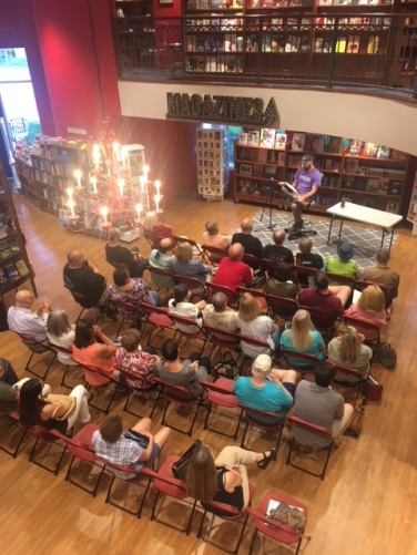 David Joy reading at Quail Ridge Book Store, Raleigh, NC